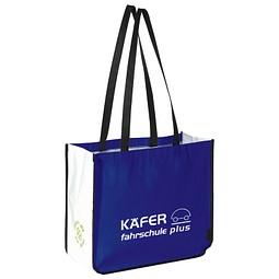 Shopping-Bag, Blau inkl. 1-farbigem Druck