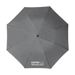Taschenschirm, Grau inkl. 1-farbigem Druck