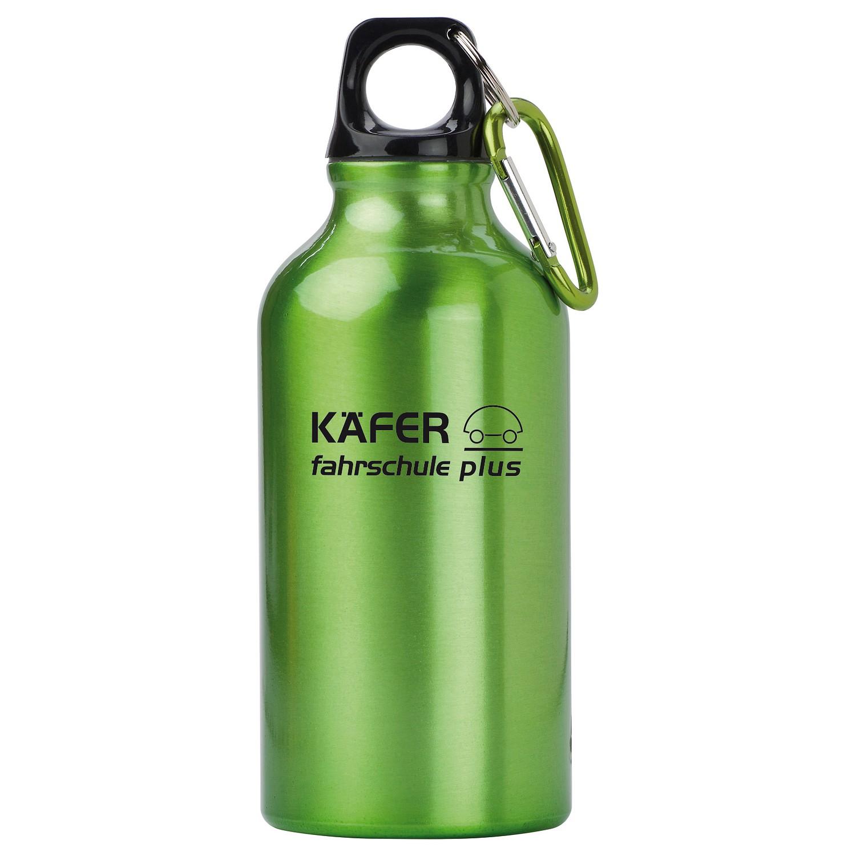 Trinkflasche Outdoor, Grün inkl. Gravur grün inkl. Gravur auf 1 Position